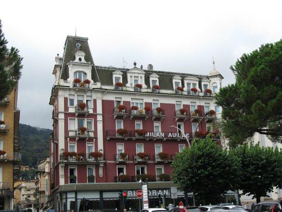 Hotel Milan Speranza Au Lac : 546 ROOM AT THE TOP FAR LEFT
