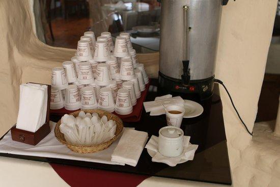 San Agustin International Hotel: Coca Tea