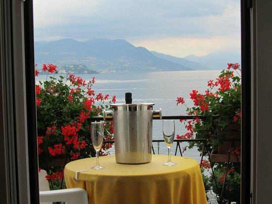 Hotel Milan Speranza Au Lac : VIEW FROM BALCONY
