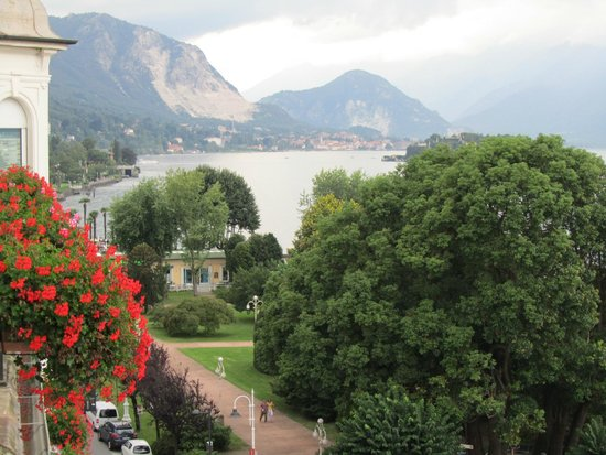 Milan Speranza Au Lac: VIEW FROM ROOM