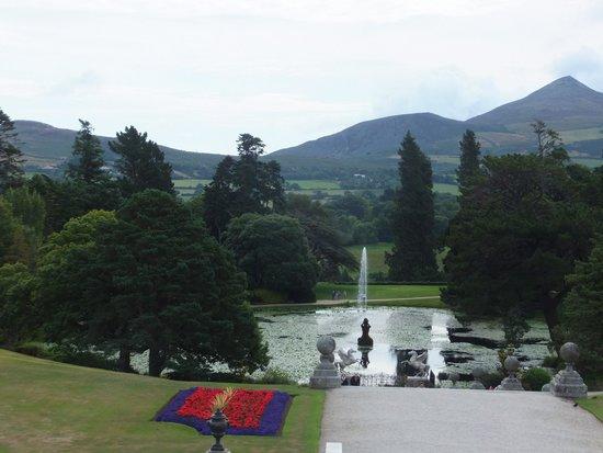 Powerscourt Gardens and House: Triton Fountain