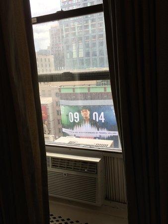 Hotel Carter : Ar condicionado funcionando