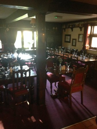 The Old Mill Inn: eating area