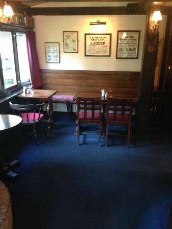 The Old Mill Inn: bar area