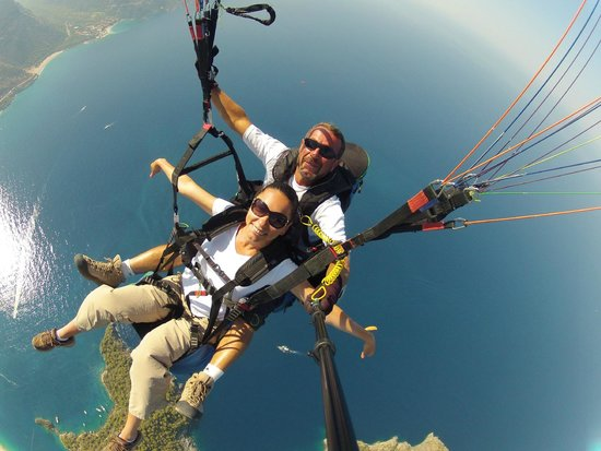 Babadag: Flying
