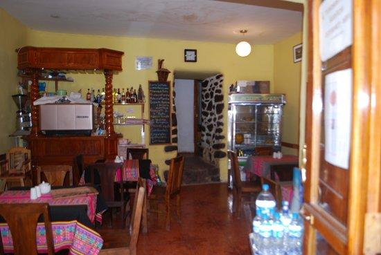 Hostal Kiswar: cafetin