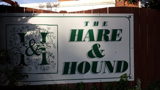 The Hare & Hound Pub: The Hare and the Hound