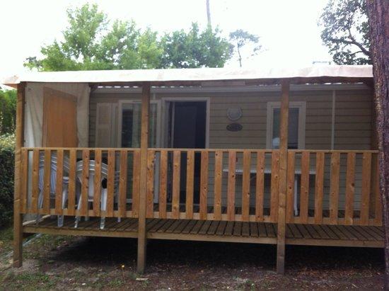 Camping Airotel Les Viviers: bungalow horizon