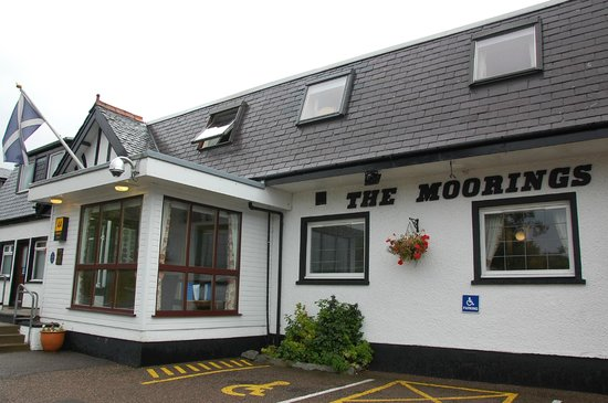 The Moorings Hotel: ingresso