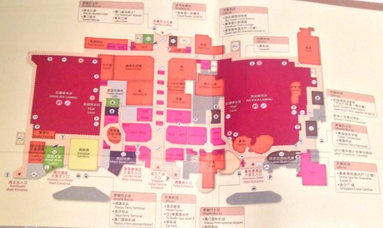 Sheraton Grand Macao Hotel, Cotai Central: Overrated: there is no common boarding area for the shuttle services