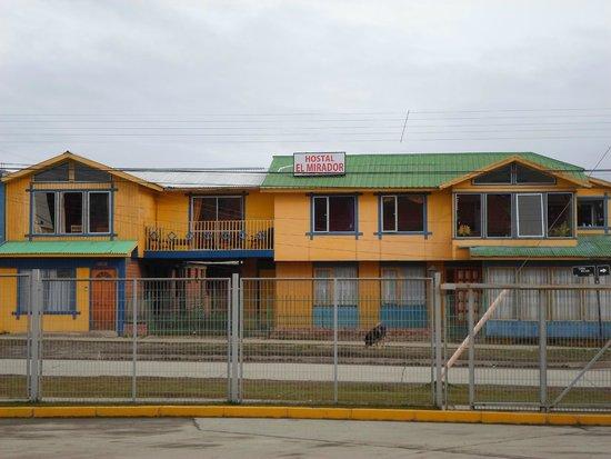 Hostal El Mirador: queda justo frente al Rodoviario