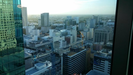 JW Marriott Marquis Miami: a view from the room