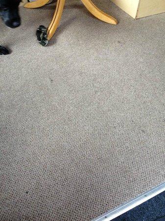 Ashcroft Coast Holiday Park - Park Resorts: Dirty Carpet
