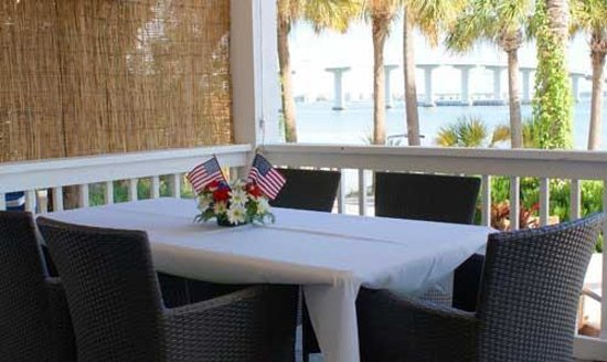 DreamView Beachfront Hotel & Resort: Outdoor setup for groups