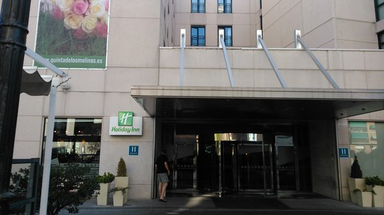 Holiday Inn Madrid - Calle Alcala : vístas del hotel.