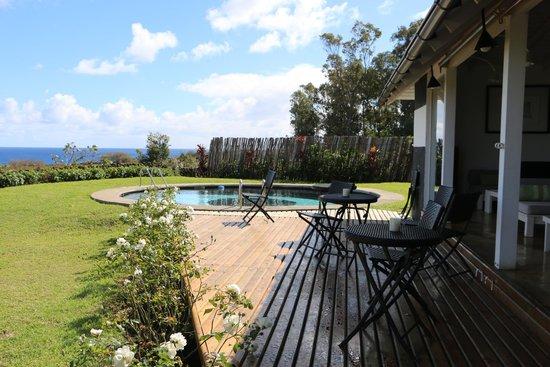Hotel Altiplanico: estar y piscina del hotel