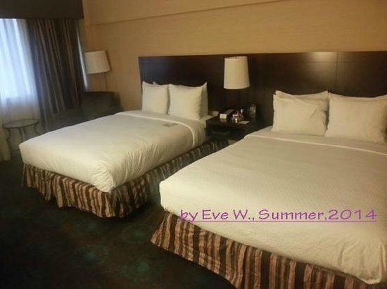 Doubletree Hotel Atlanta/North Druid Hills : standard room:  clean, spacy, and comfortable