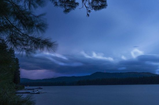 Tamaracks Resort: Lightning on Seeley Lake