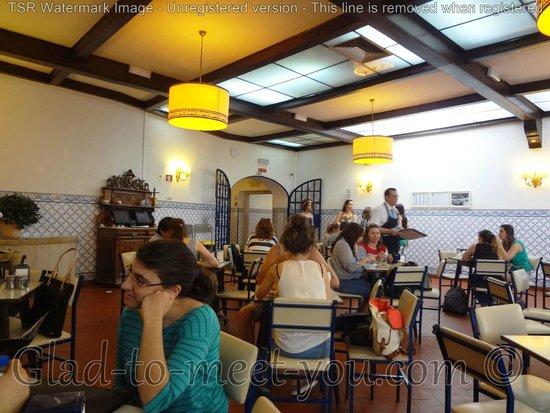 Pasteis de Belem: The interior