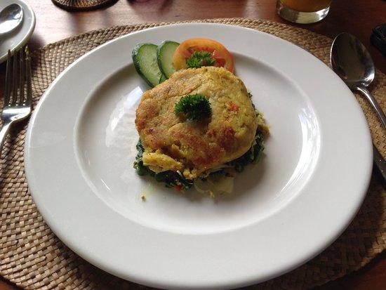 Komaneka at Bisma : Bergadel kesela at breakfast
