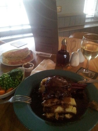 The Tamworth Arms: The Lamb was succulent.