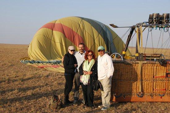 Fairmont Mara Safari Club : Hot air baloon ride