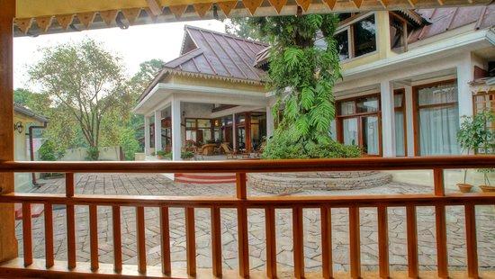 Royal Heritage-Tripura Castle: Reception Area