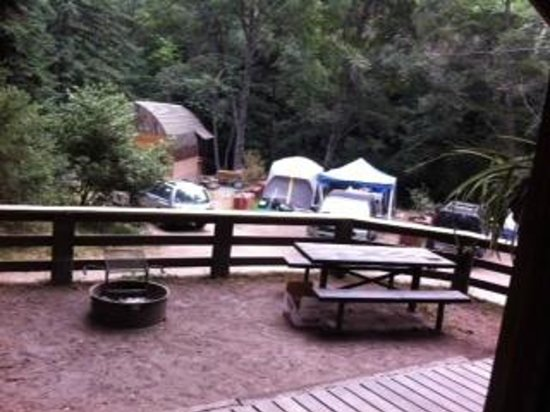 65a 2 chairs included with room picture of big sur for Big sur campground and cabins