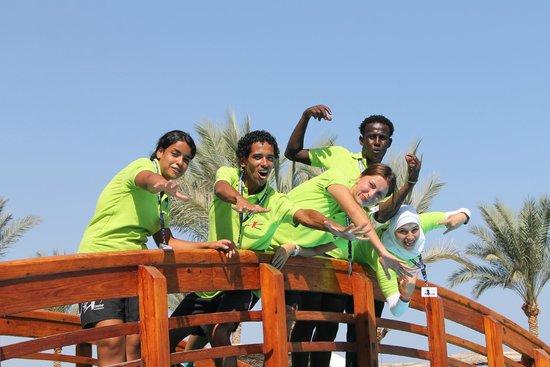 Royal Grand Sharm Hotel: Анимационная команда, правда не хватает двоих человек(