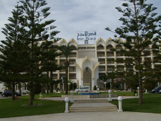 Amir Palace Hotel: The hotel