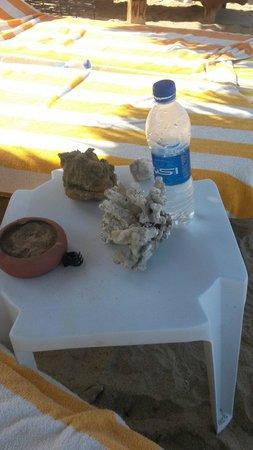 Magic Tulip Beach Resort: Cose da nn fare i coralli nn si toccano foto fatta al vicino d'ombrellone idiota!!!!