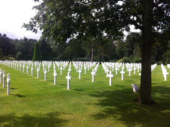 Monumento y Cementerio Estadounidense de Normandía: Superbe lieu de mémoire
