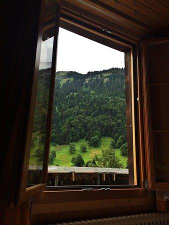 Saxeten, Switzerland: Morning view