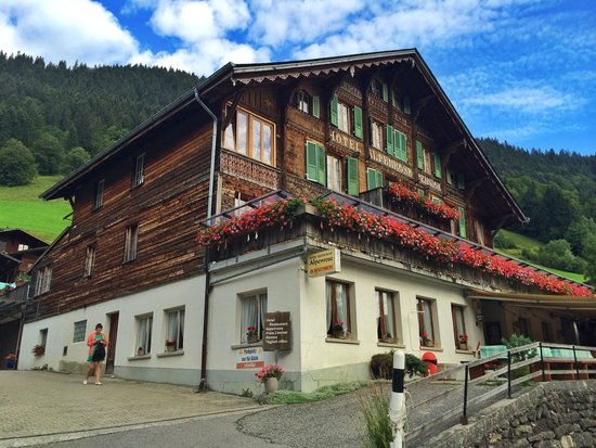 Saxeten, Switzerland: Beautiful surroundings