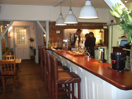 The Blacksmiths Arms: the bar area