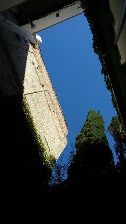El Granado: Terrace view on ground floor