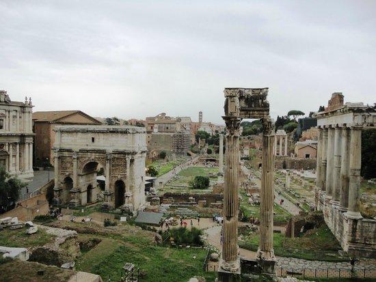 Musées du Capitole : Foro Romano desde los Museos Capitolinos