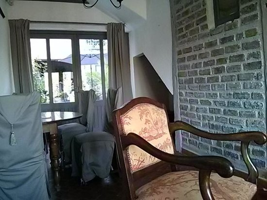 Inneneinrichtung des La Maison du Pecheur - liebevoll renoviert