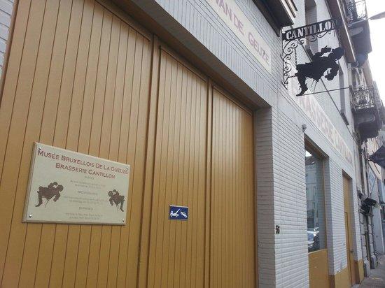 Brasserie Cantillon : cantillon ingresso