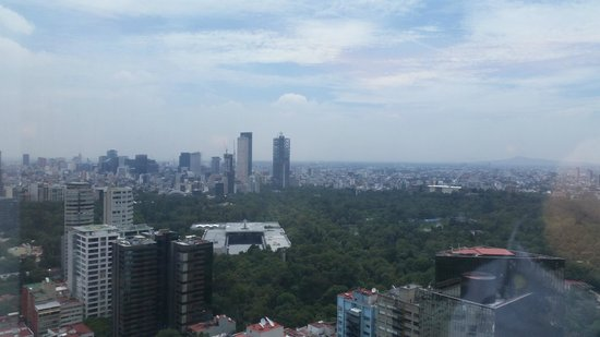 Hyatt Regency Mexico City : View from Concierge lounge