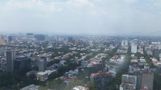 Hyatt Regency Mexico City: View from Concierge lounge