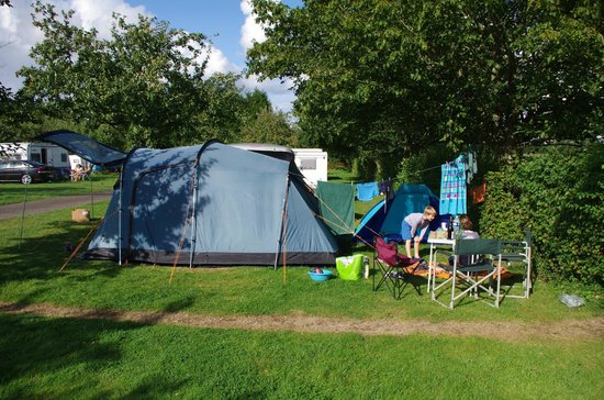 Camping Saint Nicolas: Section of the site
