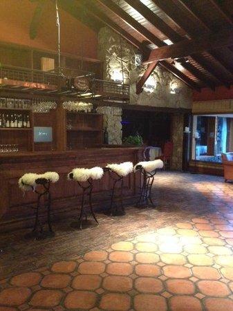 Posada Los Alamos: Interior restaurante