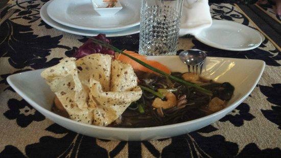 Samsara: seafood pasta