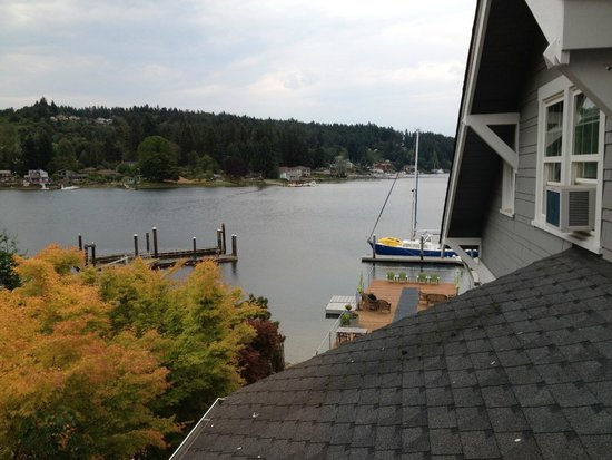 Waterfront Inn: View from 'Lookout' room