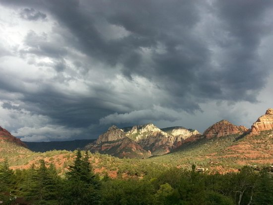 L'Auberge de Sedona: view from my room