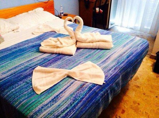 Hotel Santiago : La fantasia delle asciugamani