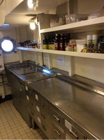 Royal Yacht Britannia: Good Prep and Storage