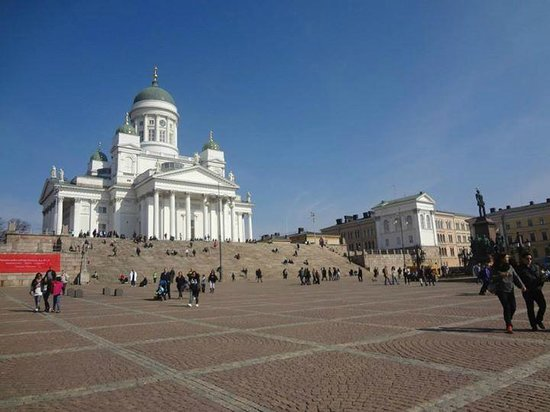 Helsinki Cathedral: Catedral Luterana