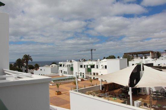 Gloria Izaro Club Hotel: Vista desde la terraza de la 619